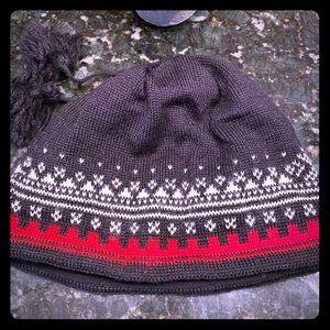 Wool ski beanie